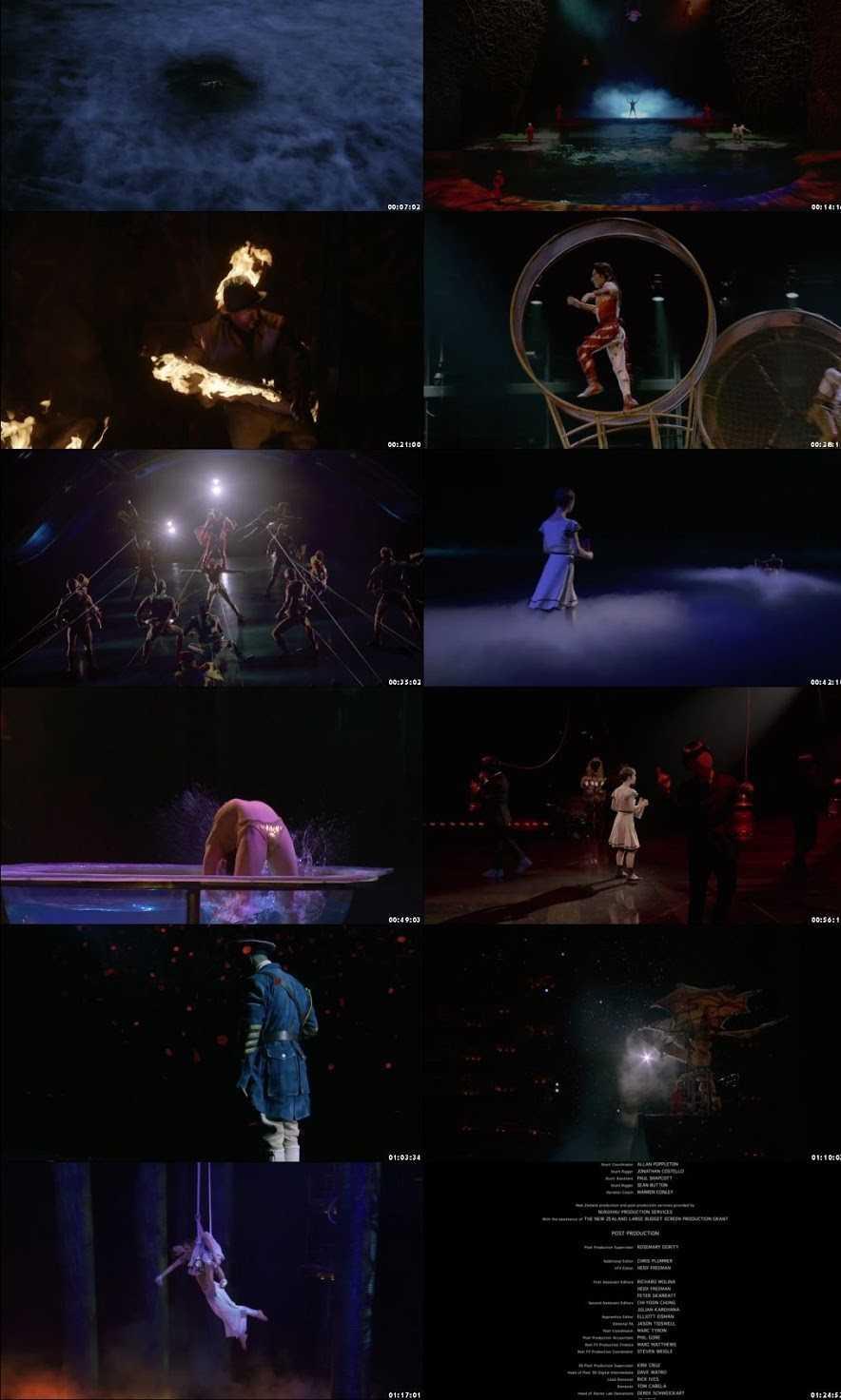 Cirque du Soleil: Worlds Away 2012 Screenshot