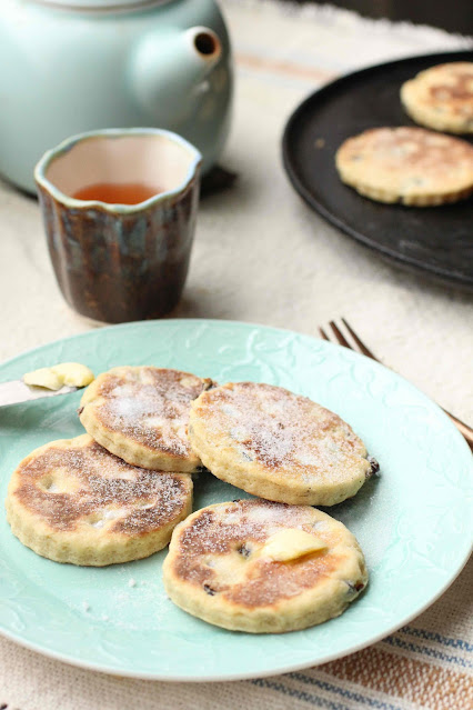 welsh cake cuisson fonte