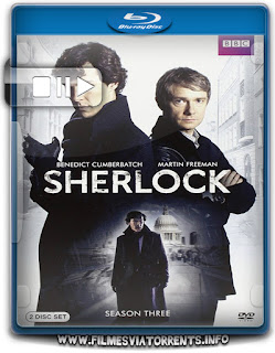 Sherlock 3ª Temporada Completa Torrent