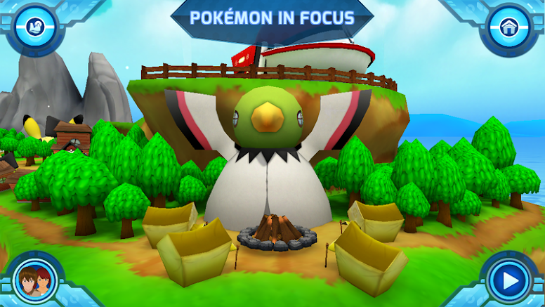 Camp Pokémon - Pokémon in Focus