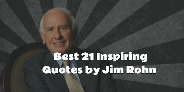 Jim Rohn the American entrepreneur about Success