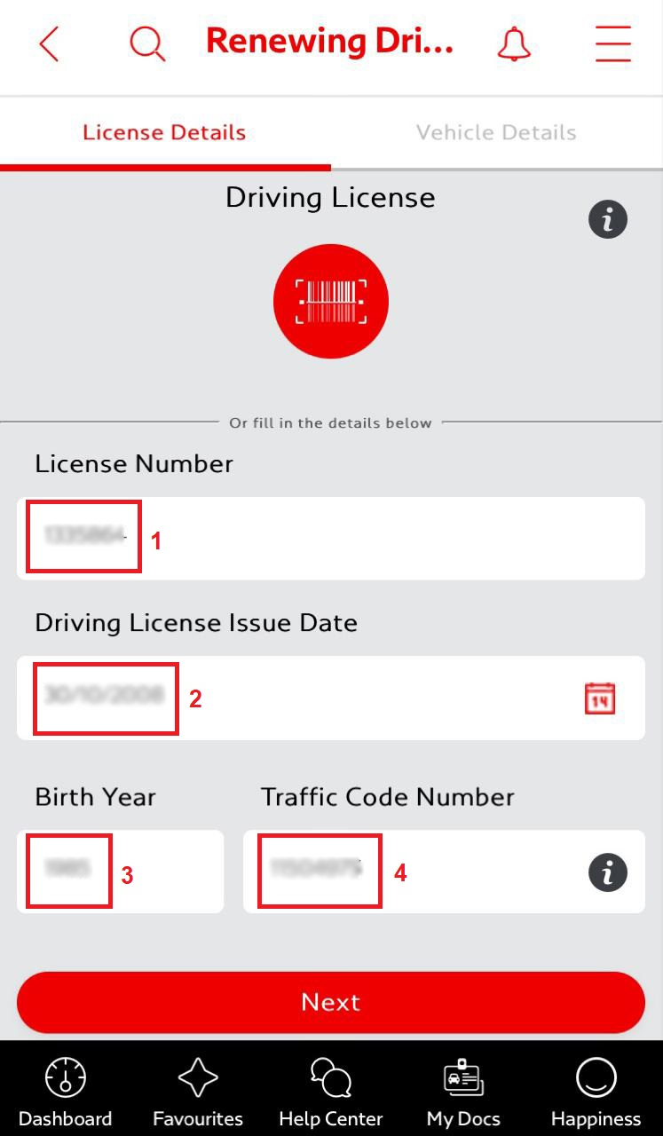 Dubai Driving License renewal online