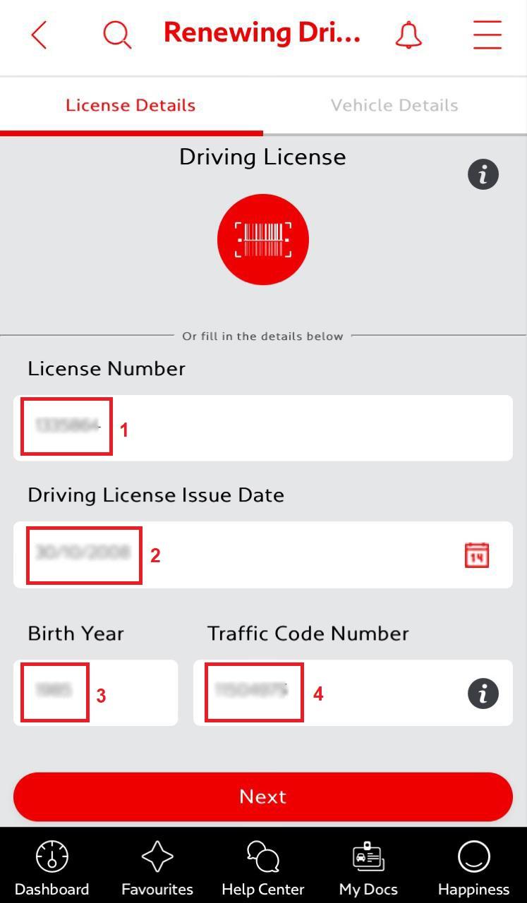 Dubai Driving License renewal online