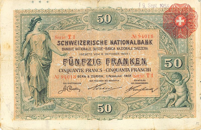 Flyer Goodness Swiss Banknotes
