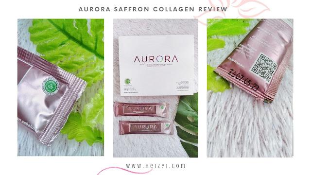 Aurora Saffron Collagen review