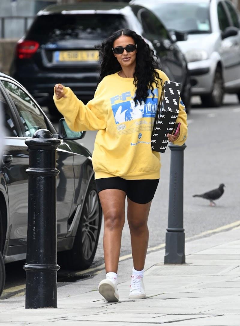 Maya Jama  Spotted at a Studios in London 11 Jul -2020