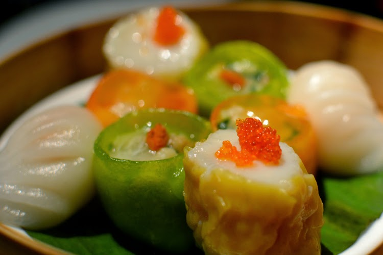 Hakkasan London dim sum