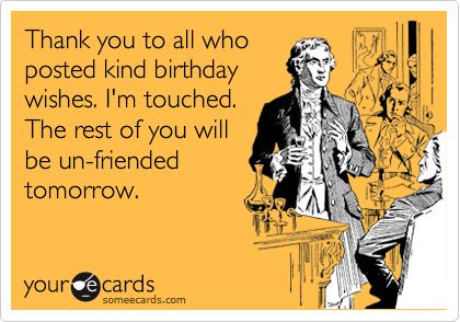 PC Or Smartphone OR Click On Share Facebook To Your Wall Say Thanks All Friends And Family For The Birthday Wishes