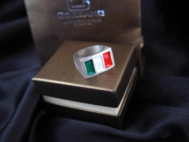イタリア国旗の指輪