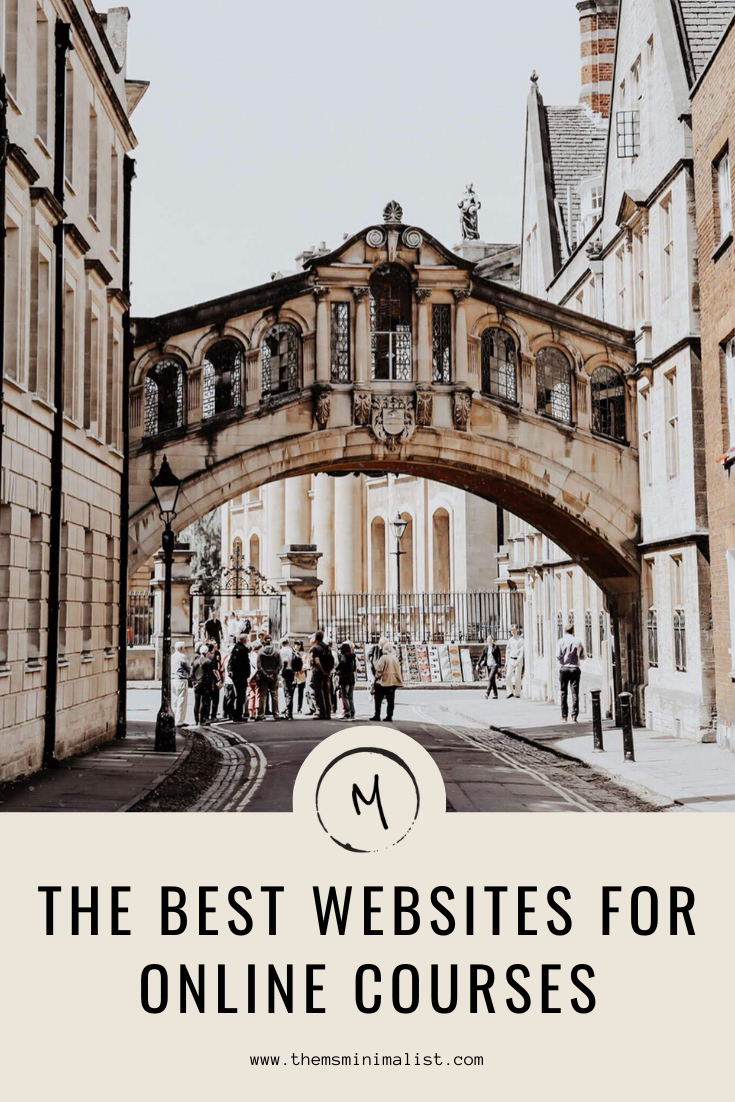 The MsMinimalist Best Educational Websites for Online Courses