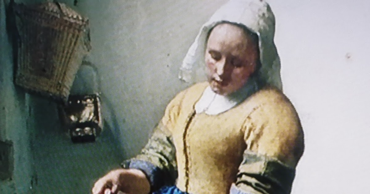 """the things i enjoy: vermeer´s """"the kitchen maid"""" in"""