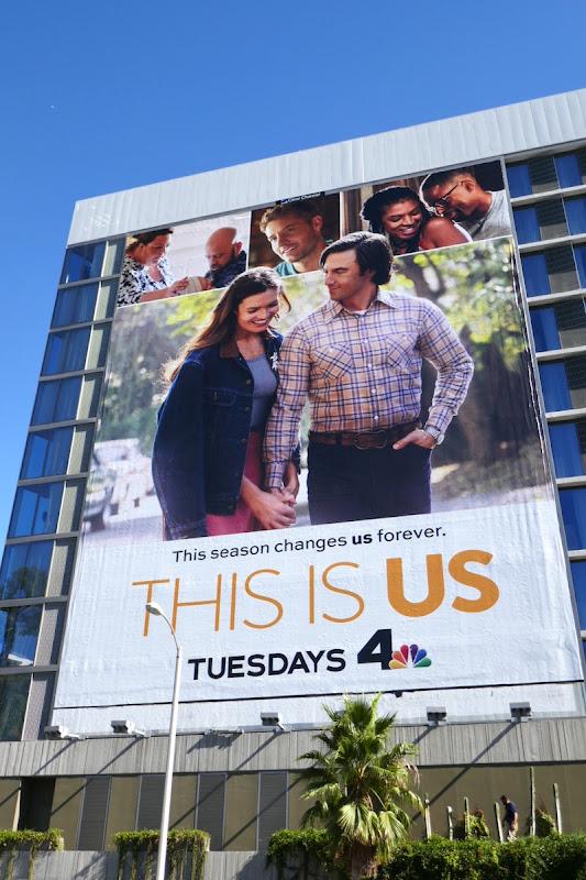 Giant This Is Us season 5 billboard