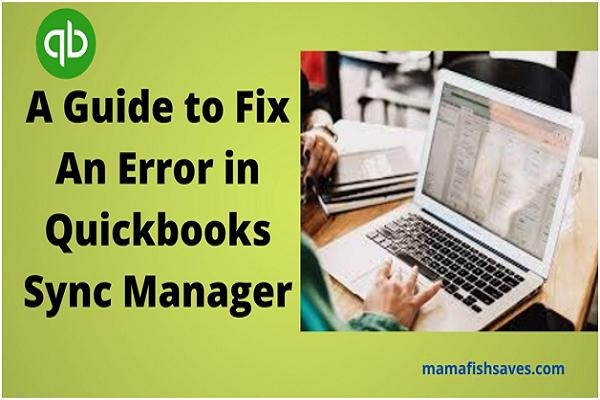 Quickbooks Sync Manager