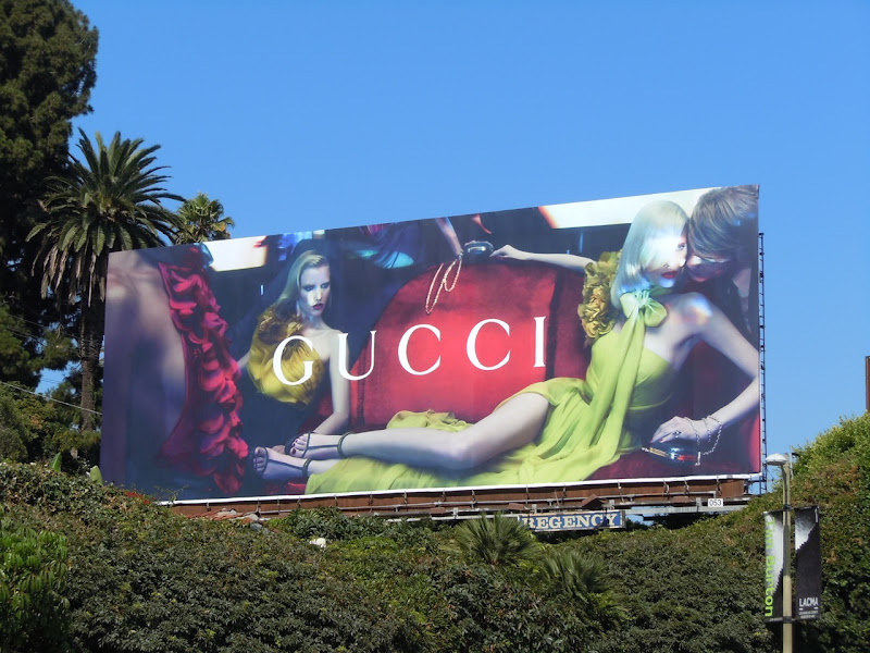 Gucci Fall 2011 billboard