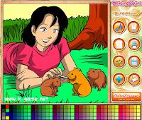 game melukis untuk anak