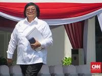 Siti Nurbaya Diminta Presiden Jokowi Menjabat Menteri KLHK