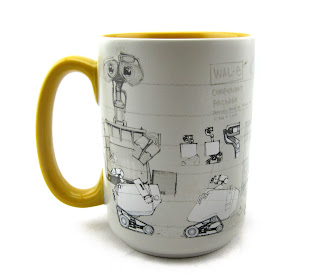 art of wall-e mug