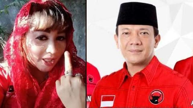 Ketua DPC PDIP Bogor Laporkan Balik Dewi Tanjung