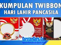 Kumpulan Twibbon Hari Lahir Pancasila 2021 Keren