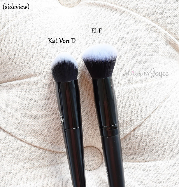 Kat Von D Lock-It Edge Foundation Brush #10 Review