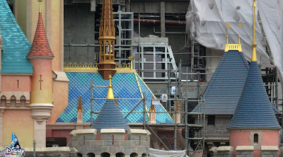 Disney, Castle of Magical Dreams, 奇妙夢想城堡, Disney Castle, HKDL Castle, Construction Update, Disney Parks, HKDL, HK Disneyland, 迪士尼, 香港迪士尼樂園度假區, 香港迪士尼, Hong Kong Disneyland Resort, Hong Kong Disneyland, Disney Magical Kingdom Blog