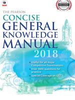 book - The Pearson concise general knowledge manual 2018 book