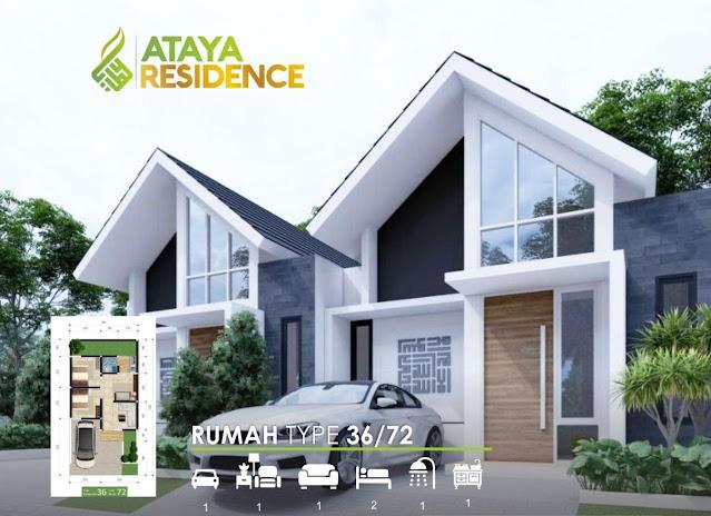 Rumah di Ataya Residence Jember