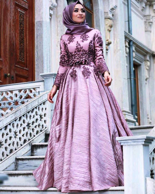 Inspirasi Gaun Muslimah Cantik dan Trendy 2001628