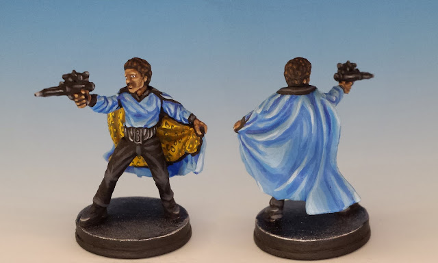 Lando Calrissian, Imperial Assault (2016), painted miniature