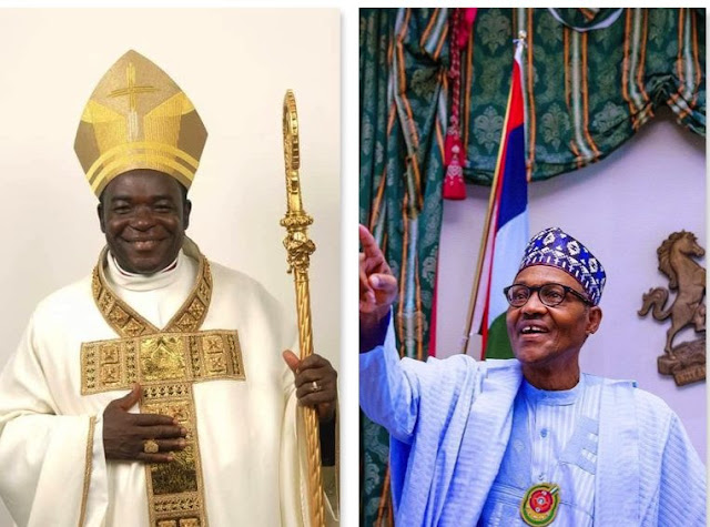 """""""It is Only In Nigeria that you dont have the right to talk against the Government- Pentecostal Fellowship of Nigeria Bishop Mathew Kukah says"""""""
