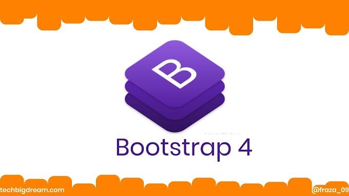 Bootstrap 4: Cara menghubungkan Bootsrap 4 secara offline