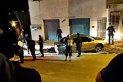 Trio é preso com carro roubado após confronto no município de Lagarto