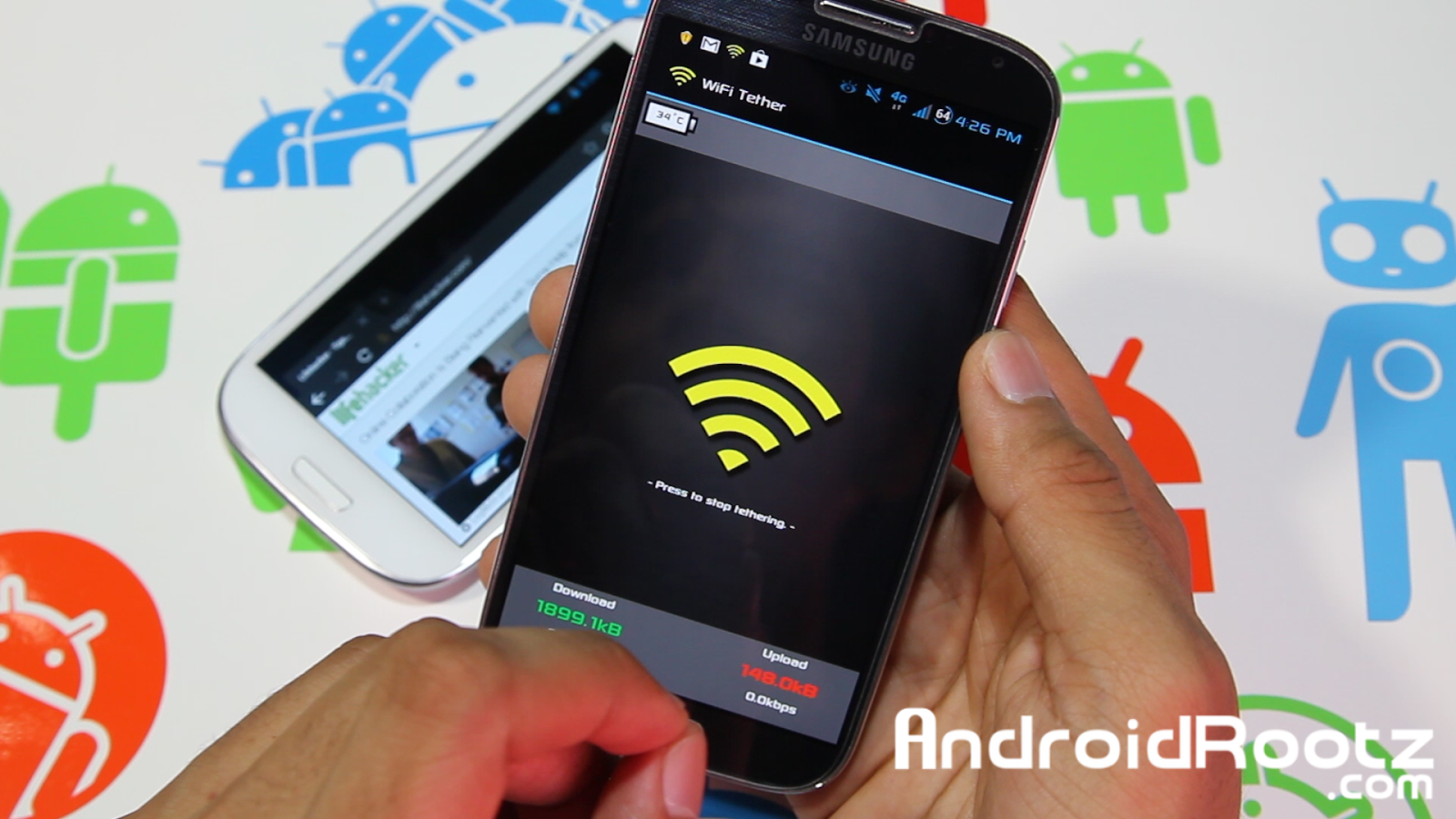 How to Get Free WiFi Tethering/Hotspot on T-Mobile Galaxy S4