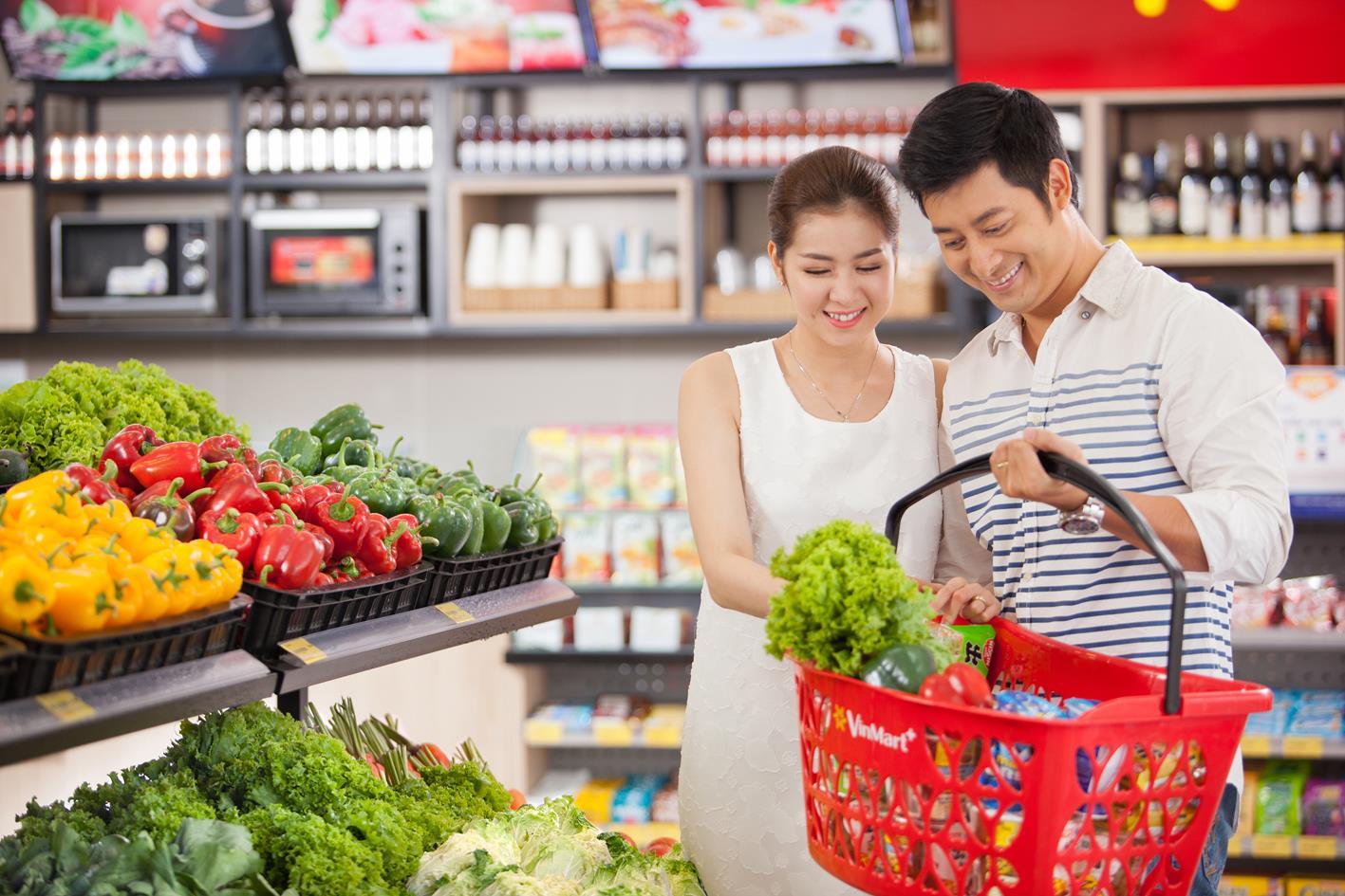 Tiện ích siêu thị tại Vincity Tây Mỗ