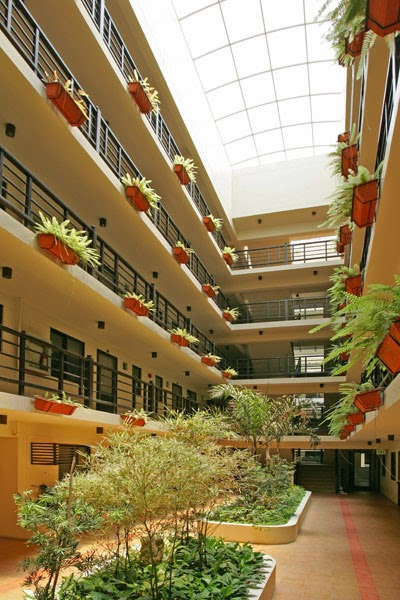 Royal Palm Residences Single-Loaded Corridor