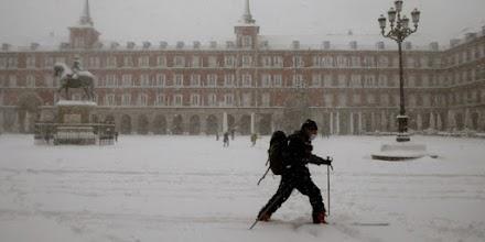 Ισπανία: Ρεκόρ χαμηλών θερμοκρασιών μετά τη χιονοθύελλα