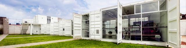 La Secundaria Valladolid - Modular Shipping Container School, Mexico 10