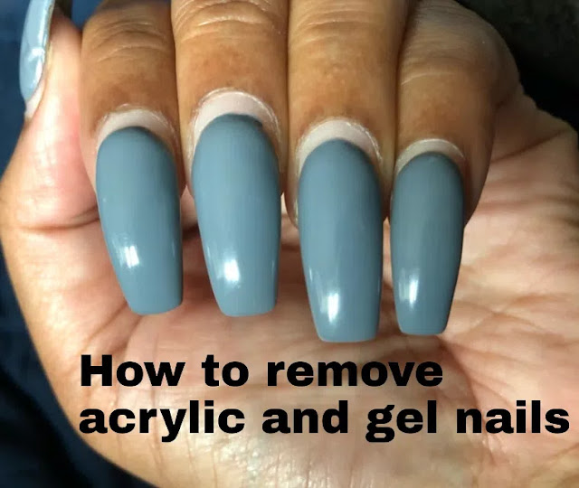 How to remove acrylics, gel nails at home during coronavirus quarantine