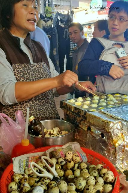 Quail Eggs Takoyaki Taipei