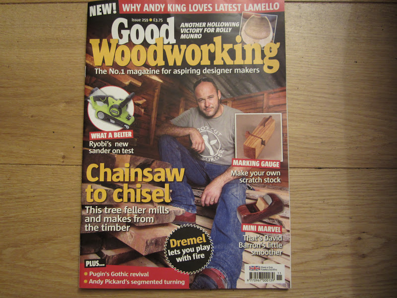 David Barron Furniture Good Woodworking Mini Smoother Review