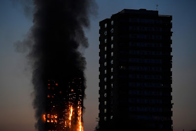 Grenfell Tower, tűz, London, épülettűz, North Kensington