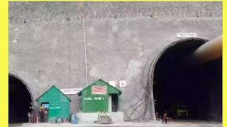 Zojila Tunnel का हुवा शुभारम्भ : देखे कैसे उड़ाई पाहडी