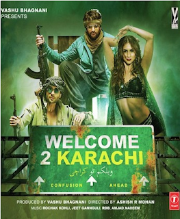 Welcome To Karachi 2015 Hindi HDTV 350mb