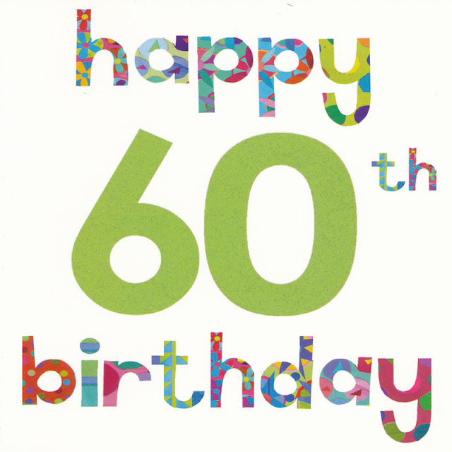 Funny 60th Birthday Greeting Wishes