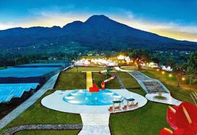 Suasana Cantik The Highland Park Resort Bogor