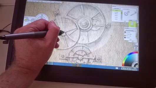 Artist review - 40 days with the Wacom Cintiq Companion - Part 5: ArtRage