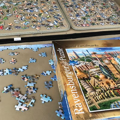 Ravensburger World Landmarks 1000 piece puzzle review