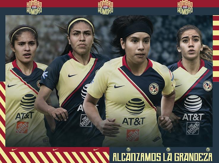 size 40 83c72 cdfc2 Nike Club America 2018-19 Home, Away & Goalkeeper Kits ...