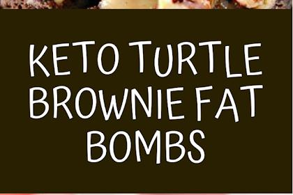 Keto Turtle Brownie Fat Bombs