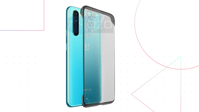 Amozo Frameless Cover for OnePlus Nord